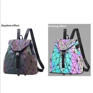 Holographic Backpack  Reflective Luminous